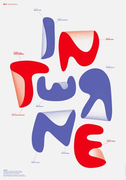 Letters, fonts-  Annik Troxler