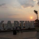 Kartini Beach,Jepara Central Java #Sunset #BicycleTouring