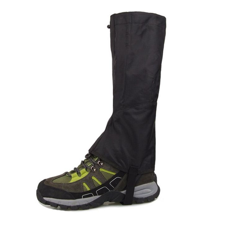 Outdoor Hiking Durable Waterproof Highly Breathable Warm Double-deck High Gaiters *** Discover this special product, click the image : Backpacking gear