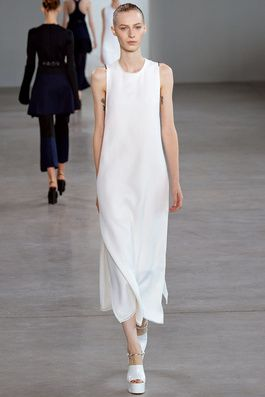 Calvin Klein Collection Spring 2015 Ready-to-Wear Fashion Show: Complete Collection - Style.com simplicity