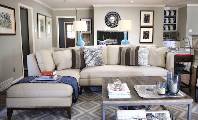 Gray for living room.