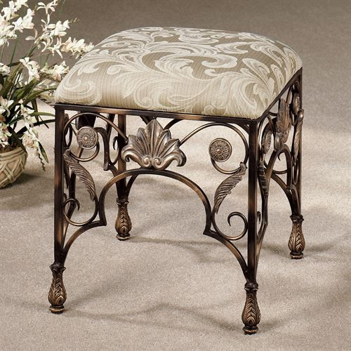 Best 25 vanity stool ideas only on pinterest craft fur diy stool and fuzzy stool - Tall vanity chair ...