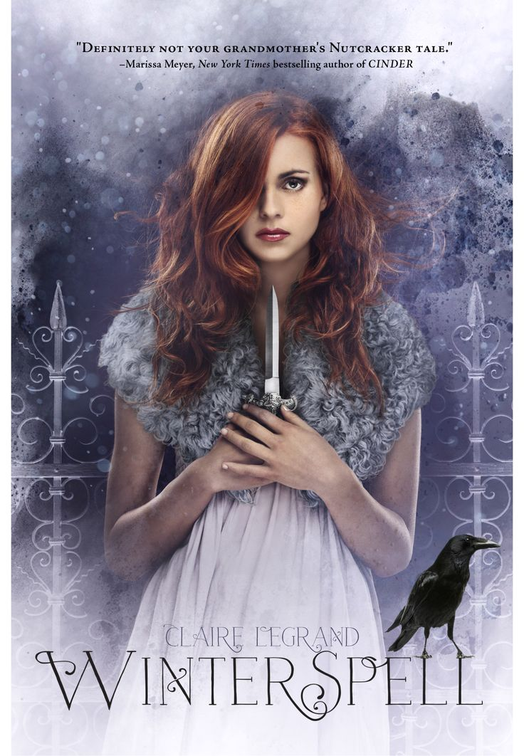 cover of the US WINTERSPELL hardcover
