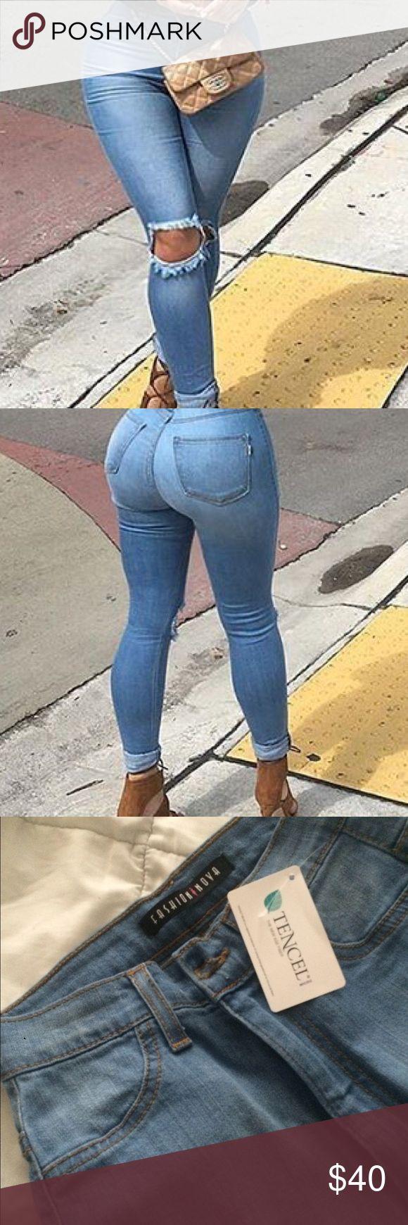 Fashion nova knee slit jeans 1 24 Fashion nova knee slit jeans 1 24 Fashion Nova Jeans Skinny