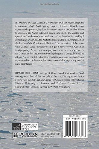 Breaking the Ice: Canada, Sovereignty, and the Arctic Extended Continental Shelf (Contemporary Canad