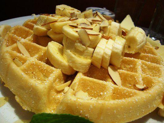 Receta waffles dulces