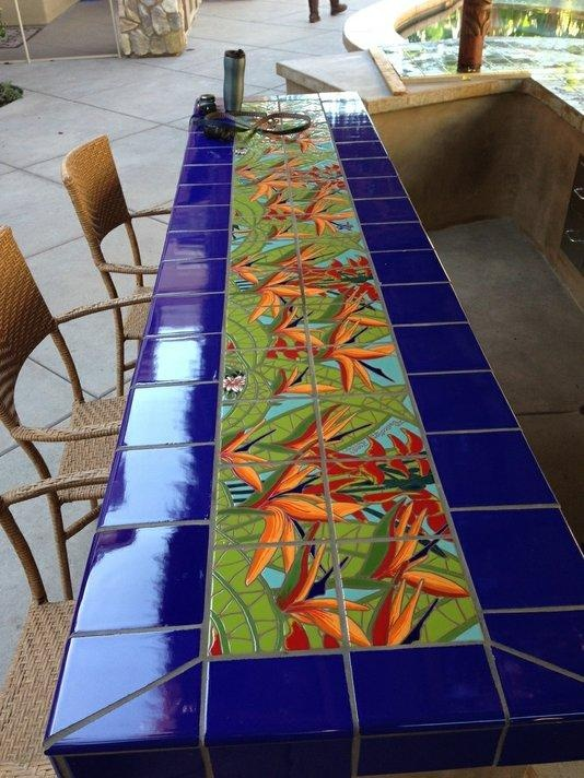 37 Best Tiled Tables Images On Pinterest Tile Tables