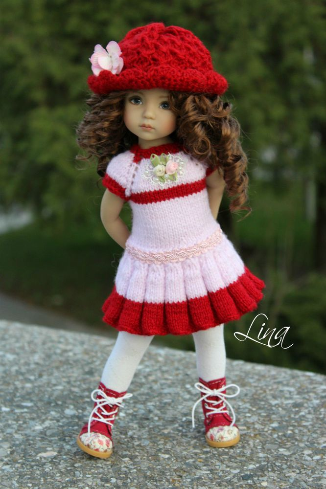 "OOAK OUTFIT FOR DOLLS 13"" Dianna Effner Little Darling"