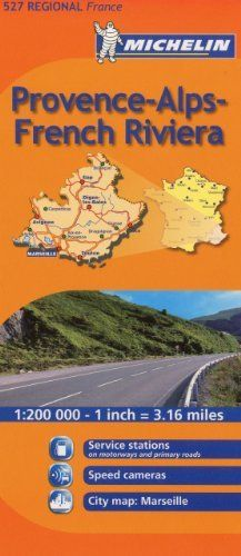 Michelin Map France: Provence French Riviera 527 (Maps/Regional (Michelin)) (English and French Edition) by Michelin, http://www.amazon.com/dp/206713535X/ref=cm_sw_r_pi_dp_znnYrb149GGB4