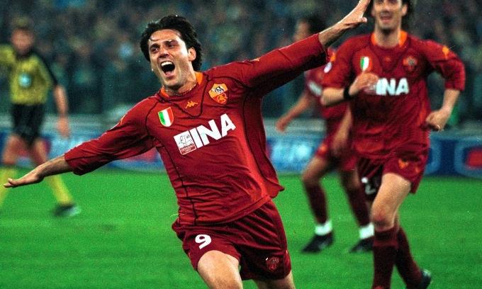 Vincenzo Montella, AS Roma.