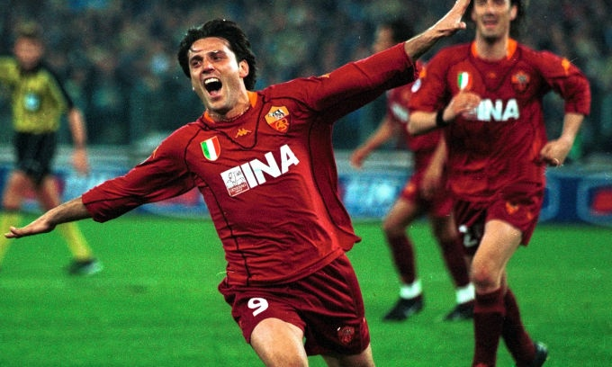 Vincenzo Montella, AS Roma.