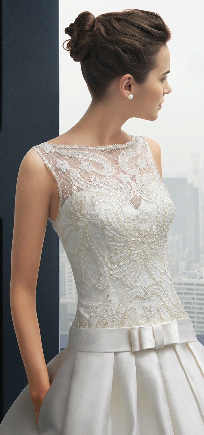 Ball Gown Wedding Dresses : Two by Rosa Clara 2015 Bridal Collection  Belle the Magazine . The Wedding Blog