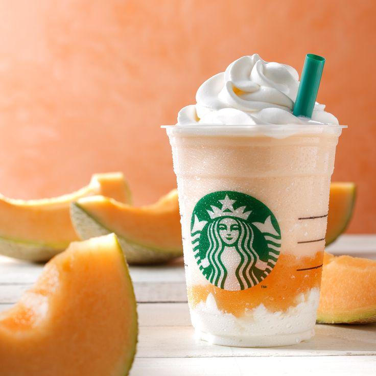 カンタロープ メロン & クリーム フラペチーノ® - はじまりの季節に、新しい出逢いを | スターバックス コーヒー オフィシャルブログ : Starbucks Coffee Blog