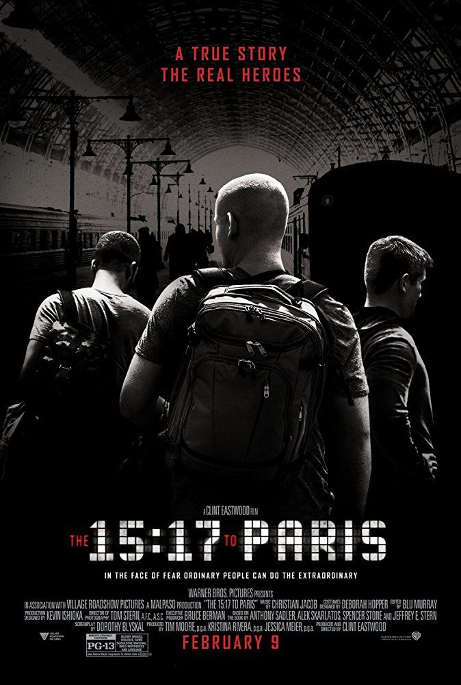 The 15:17 to Paris | Movies | Paris movie, Full movies download