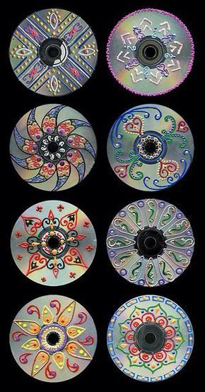 We made diy CDs and they look so cool