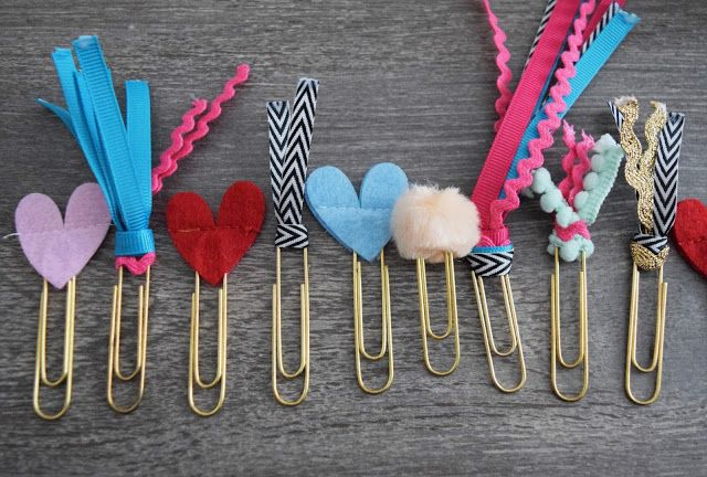 DIY PLANNER PAPERCLIPS