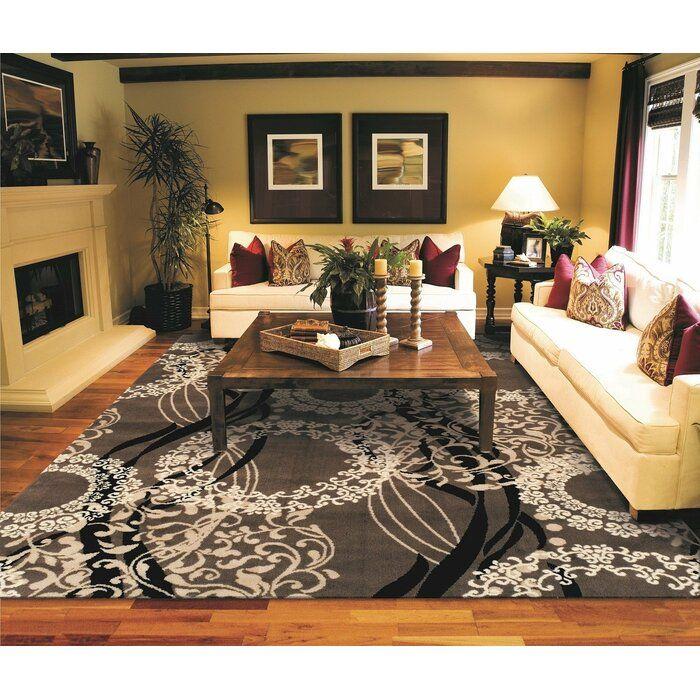 Kirksey Wool Brown Indoor Area Rug Rugs In Living Room Living