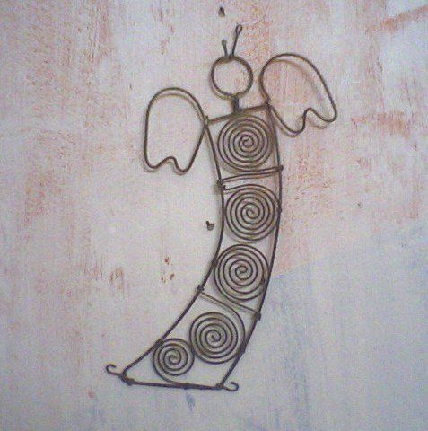 Wire Angel for Christmas |Pinned from PinTo for iPad|