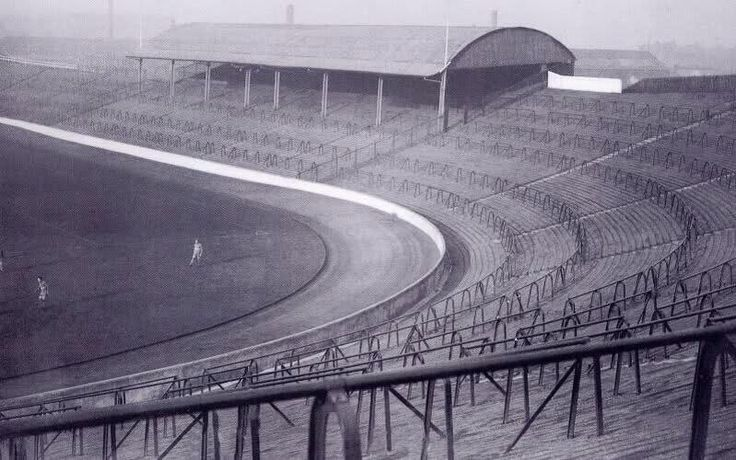 The old Ibrox Stadium