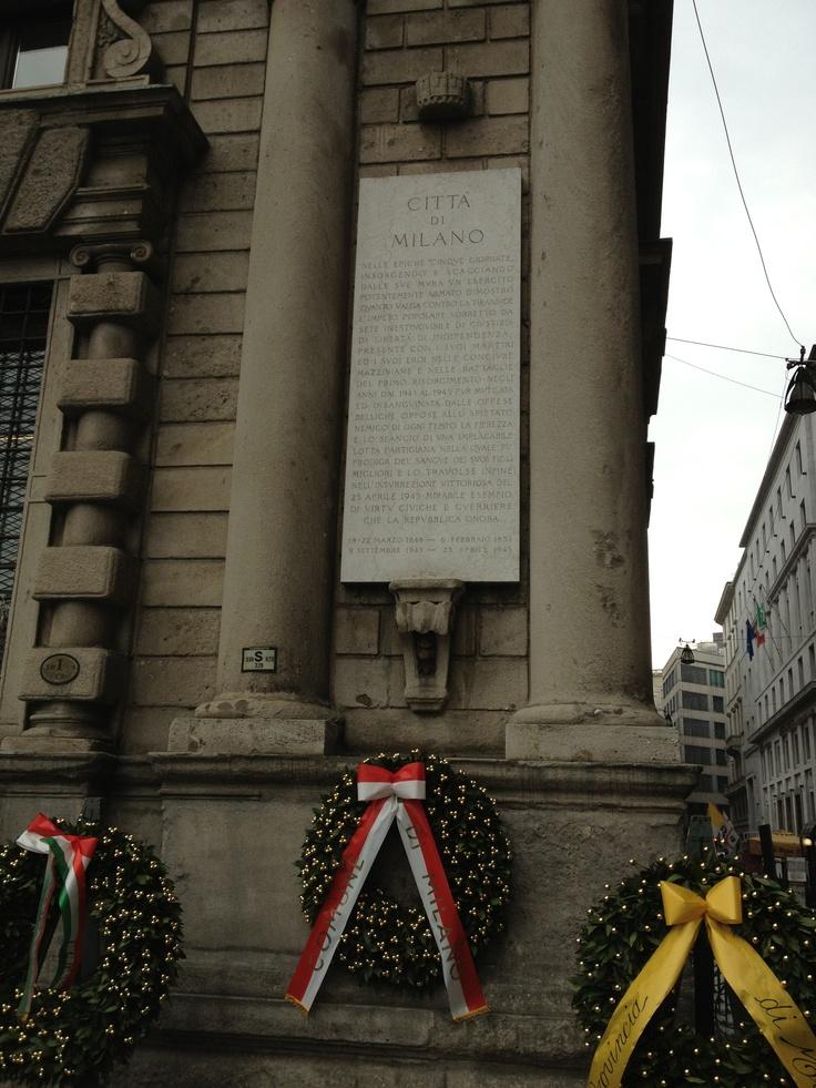 Città di Milano - Piazza della Scala, Milano