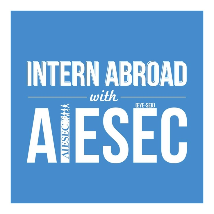 Intern abroad with #AIESEC! Join us!