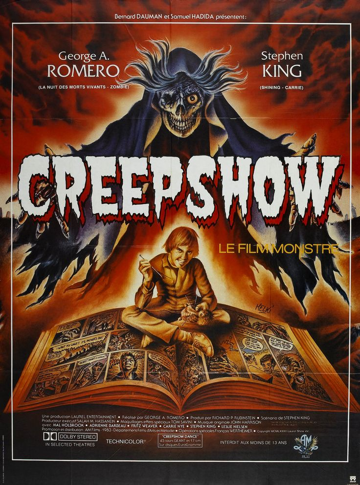 art of the beautiful-grotesque: Creepshow