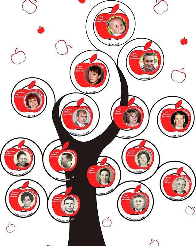Генеалогическое дерево для школьного портфолио, формат A4. Создано семь лет назад на #годовасие формата A3. Потом пригодилось в саду и вот сейчас в школе опять его использую.  #генеалогическоедрево  #заказать  #генеалогическоедерево  #связьвремен  #годовасие  #портфолио школьника #портфолио #illustrator #photoshop #макет #шаблон #школа  #детскийсад  #школьнику #моя семья  #яблокоотяблони