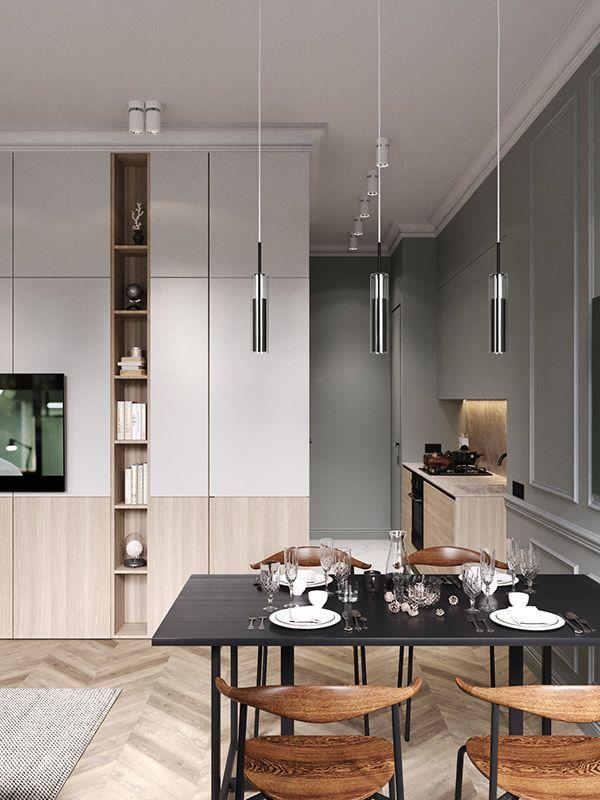 Line Up On Behance Apartment Interior Apartment Interior Design