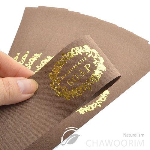 Soap Packaging Ideas   20SHEET Luxury Gold Label for Handmade Soap Handmade Soap Label   eBay