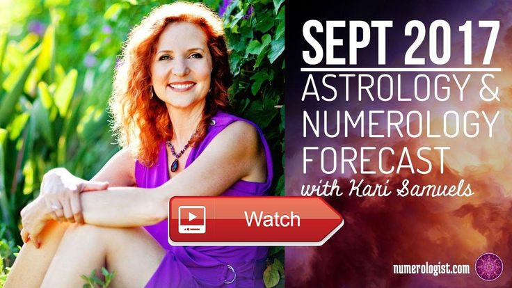 September Astrology Numerology Forecast With Kari Samuels  FREE Numerology Guide and link to here Kari Samuels is an Intuitive Counselor Happiness who helps people alignNumerology Name Date Birth VIDEOS  http://ift.tt/2t4mQe7  #numerology