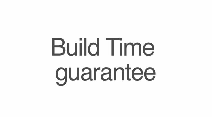 Stroud Homes | FAQ Video | Build Time Guarantee