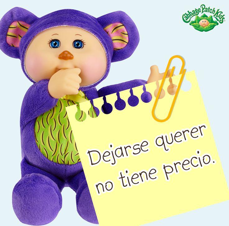 Dejarse querer no tiene precio.  #cabbagepatch #cabbagepatchkids #sketchers #muñeca #niñas #abrazo #palaciodehierro #liverpool #comercialmexicana #walmart #soriana #sears #chedraui #coppel #juguetron #HEB #kids
