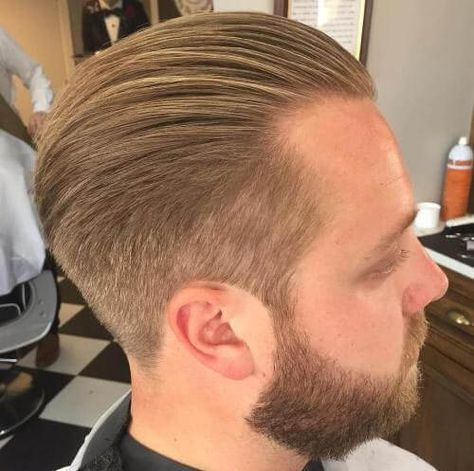 Multi-layer Cut for Receding Hairlines - Hairstyles for Men with Receding Hairlines