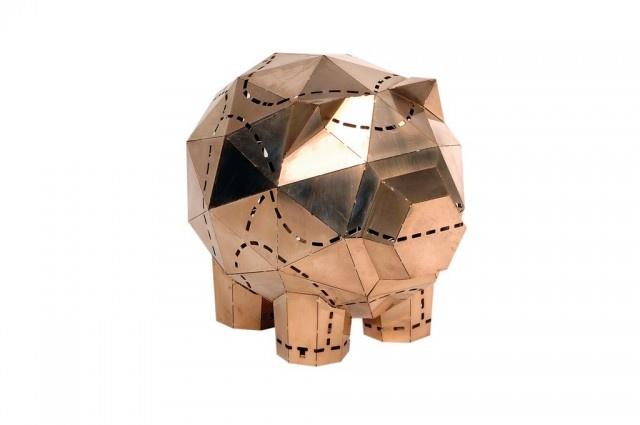Piggybank by Spell | Georgios Maridakis.Banks Engraving, Spelling Piggies, Piggies Banks, Piggybank, Banks Stands, Things Piggies