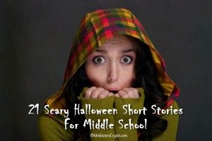 Scary Halloween Short Stories with questions or activities