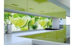 Panel szklany do kuchni LIMONKI I LÓD II