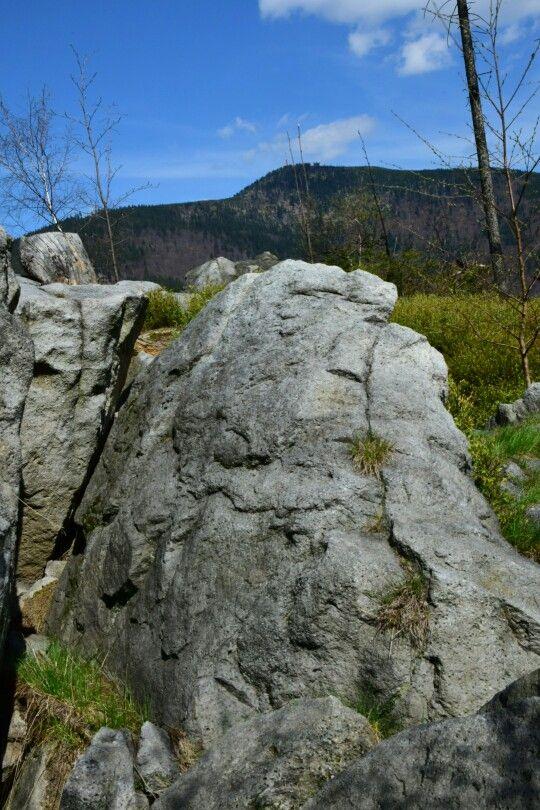 Pohled na Lysou horu, Beskydy