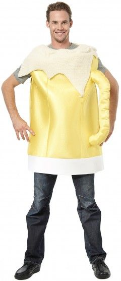 La tenue chope de bière géante pour adultes, l'idée originale qui fera mousse lors de l'Oktoberfest !