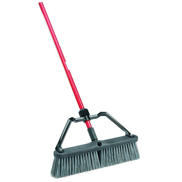 18 in. Rough Surface Heavy Duty Push Broom