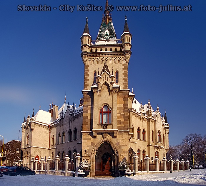 Kosice: This is Conor's first city assignment. This is the famous St. Elizabeth cathedral.