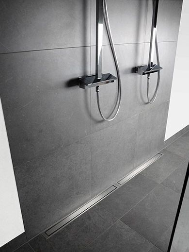 Wet room ideas - If you have the space, why not have a large wet room? Unidrain…