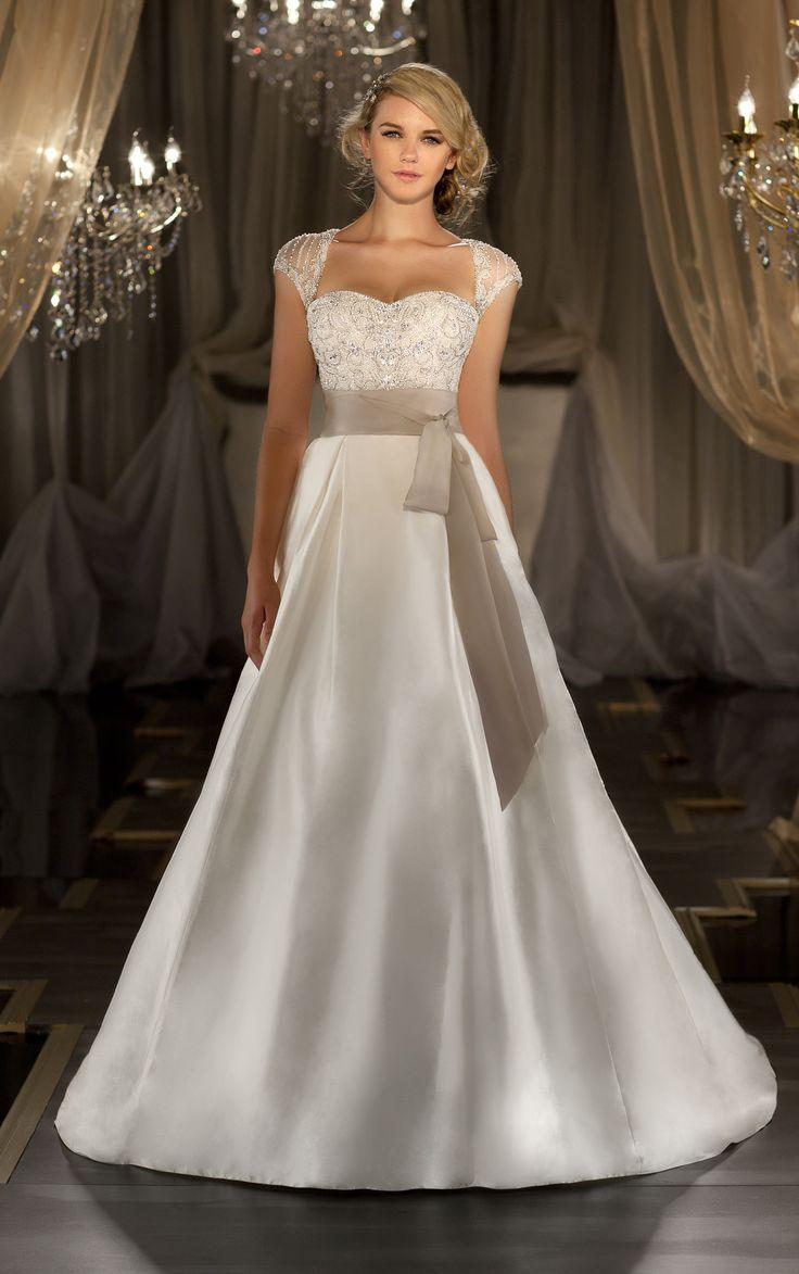 new balance bleu et beige wedding jumpsuit with removable skirt