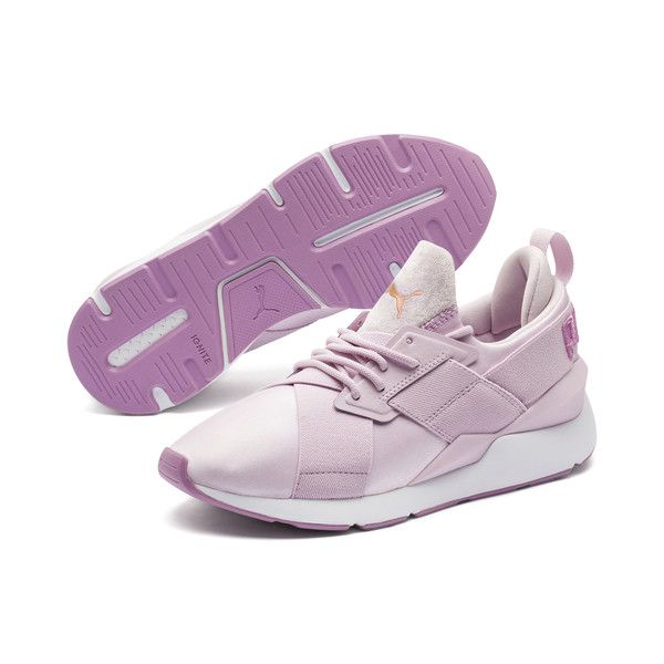 Muse Satin II Womens Sneakers | Winsome Orchid-Smoky Grape ...