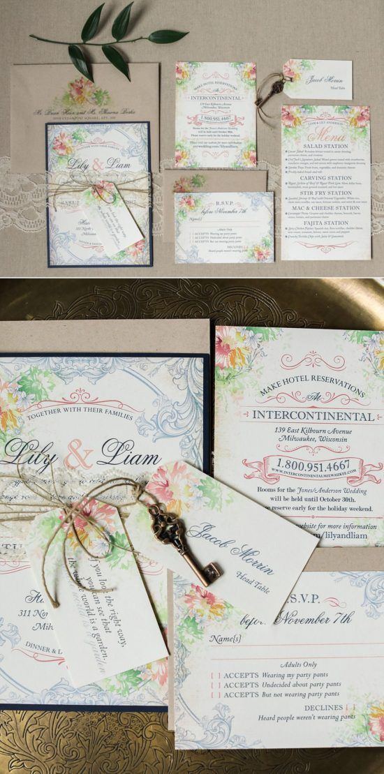 See 26 Beautiful Customized Milwaukee Wedding Invitations From Local Invitation Vendors