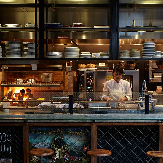 Restaurant Kitchen Interior Design: 25+ Best Ideas About Open Kitchen Restaurant On Pinterest