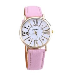 Zegarek różowy retro elegancki stylowy