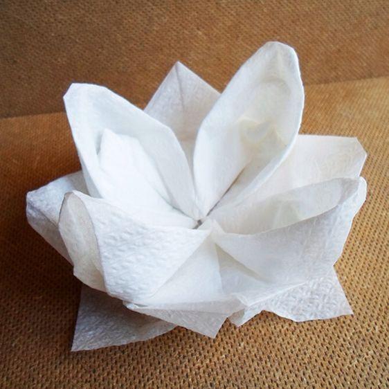 1000 Images About Folding Napkin On Pinterest