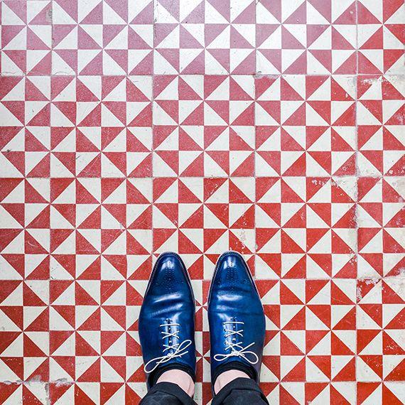 Barcelona Floors, fotografías de los suelo de Barcelona realizadas por  Sebastian Erras y Pixartpringint.