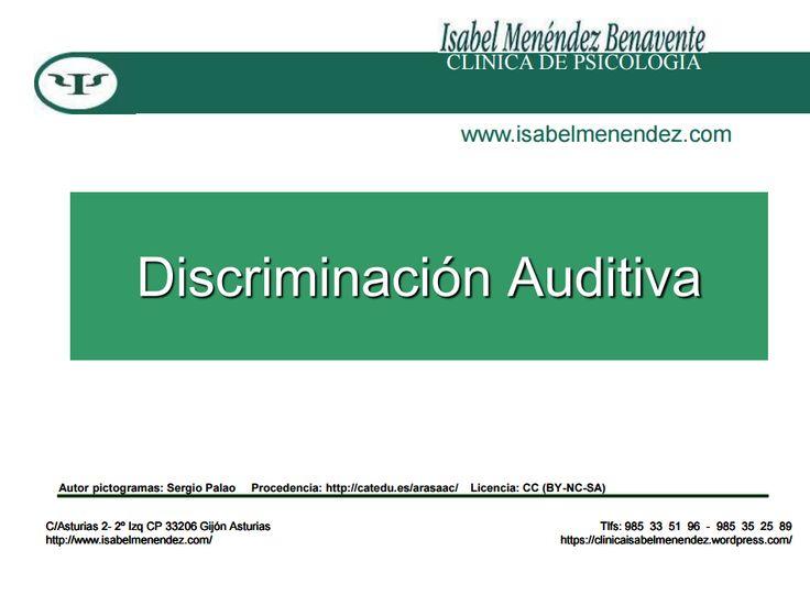 Esta semana os presentamos nuestros materiales de discriminación auditiva de pares de palabras. Los hemos realizado gracias a los Pictogramas de ARASAAC, podéis encontrarlos en elPortal Aragonés d...