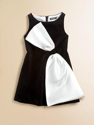 David Charles - Toddler's & Little Girl's Velvet Shift Dress - Saks.com